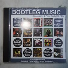 BOOTLEG MUSIC Discography & Price Guide Multimedia Encylopedia CDr  solo & group
