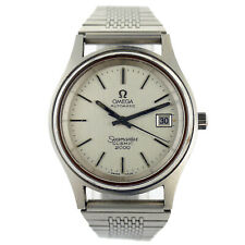OMEGA SEAMASTER COSMIC 2000 AUTOMATIC SILVER DIAL STAINLESS STEEL MENS WATCH
