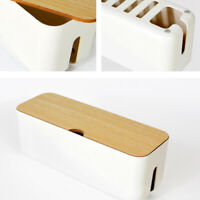 Large Cable Wire Cord Storage Box Case Management Socket Tidy Safety Organizer