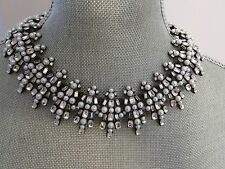 Banana Republic Rhinestone/Pearls Collar Statement Necklace NWT