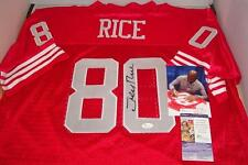 Jerry Rice signed San Francisco 49ers jersey - JSA AUTHENTICATED - Hall of Famer