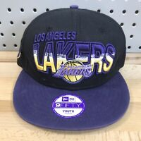 Los Angeles Lakers NBA Basketball YOUTH New Era 9FIFTY Snap Back Cap Hat LA