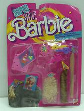 VINTAGE BARBIE SUPER STYLE MAGIC HAIR CHARMS 1988 FASHION MATTEL MOC #1614
