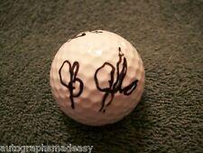 JB HOLMES PGA GOLF SIGNED GOLF BALL W/COA