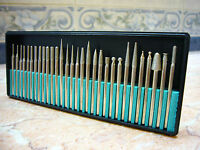 30 pieces THK Diamond coated rotary burrs GRIT 120 glass drill bit 3mm shank