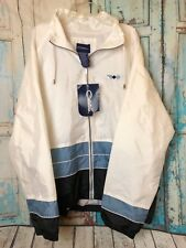 Catalina Ladies Vintage Track Jacket Colorblocked XDye Size Large New