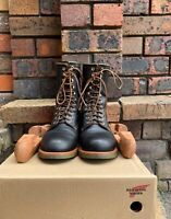 Red Wing limited edition 'Indigofera Climber boot 4328' in size US 8D, USA made