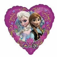 "Disney FROZEN Anna Elsa Love Foil Balloon Girls Birthday Party Decorations ~ 17"""