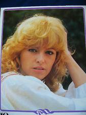 1979 Nathalie Delon Japan VINTAGR calendar POSTER VERY RARE