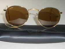 46MM VINTAGE B&L RAY BAN B15 WRAP-AROUNDS ARISTA ROUND AVIATORS SUNGLASSES NEW
