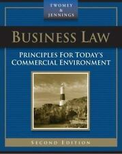 Business Law:Principles for Today's Commercial Environment;TWOMBEY & JENNINGS