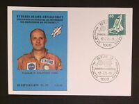 BERLIN MK 1975 WELTRAUM SPACE SHUTTLE MAXIMUMKARTE MAXIMUM CARD MC CM c9359