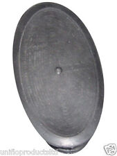 Uniflo Oval Macerator black Rubber Diaphragm membrane for Saniflo Sanipro.