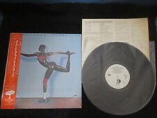 Grace Jones Island Life Japan Promo White Label Vinyl LP w OBI Jean Paul Goude