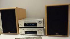 Denon DRA-F102 DAB HiFi  Component System Amp CD+ TDL Nucleus KV1 Speakers