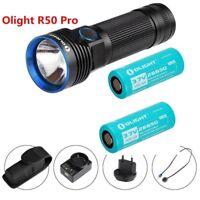 2 Batteries Bundle Olight R50 PRO SEEKER 3200 Lumens LED rechargeable Flashlight