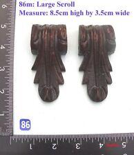 "86M ""2 bracket badges"" clock case / furniture DIY"
