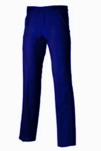 ROYAL BLUE WORK TROUSERS  - Quality classic leg  BRITISH MADE - TR98