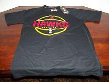 NWT - NBA - ATLANTA HAWKS - CLIMALITE - BLACK - SHIRT - ADIDAS - MEDIUM