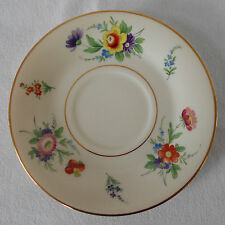 Old Ivory Syracuse China Selma Saucer Rplc Tea Coffee Cup Multi Floral Gold Trim