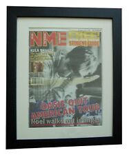 OASIS+NOEL GALLAGHER+NME 1996+POSTER+AD+FRAMED+RARE ORIGINAL+EXPRESS GLOBAL SHIP