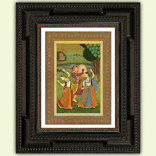 Indian reproduction Mughal Print, Poster, A3 satin 285gsm Paper No2