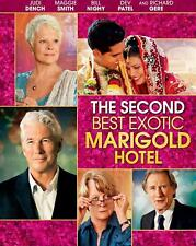 The Second Best Exotic Marigold Hotel (Blu-ray Disc, 2015) NEW