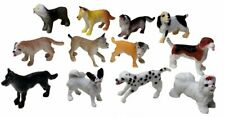 Miniature Dollhouse Lot of 12 Assorted Dogs New