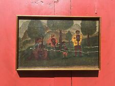 1909 DEGENERATE ART??RUSSIAN JEWISH GERMAN Abstract Expressionist O/BD signed HR