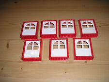 schwarz 4521846 61345 LEGO®  4x Doppelfenster 1x4x2 weiß Scheiben tr LEGO Bausteine & Bauzubehör LEGO Bau- & Konstruktionsspielzeug