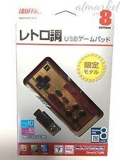 Buffalo NES Famicom FC Turbo Rapid Fire Gamepad Controller for Windows PC USB