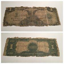 VINTAGE $1 1899 BLACK EAGLE SILVER CERTIFICATE ONE DOLLAR SPEELMAN WHITE FR. 236