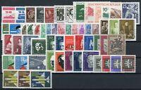 DDR Jahrgang 1957 postfrisch MNH jede MiNr 1x