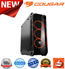 Cougar Panzer-G Mid Tower 4xTempered Glass 3x120mm RGB Fans