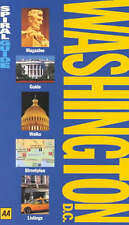 Very Good, Washington DC (AA Spiral Guides), Christensen, Shane, Franklin, Paul,