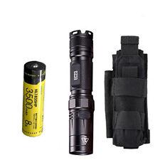 Combo: Nitecore EC23 Flashlight w/1x NL1835HP Battery & Tactical Holster