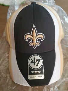 NEW New Orleans Saints '47 Brand NFL Hat Adjustable One Size Touchback