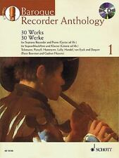 Baroque Recorder Anthology, Volume 1: 30 Works [With CD (Audio)] (Mixed Media Pr