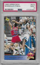 1992 Upper Deck #474, Shaquille O'Neal PSA 9 (Orlando Magic) 47230460