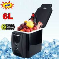 6L Car Refrigerator Portable Fridge Cooler Warmer Electric Travel Freezer 45W
