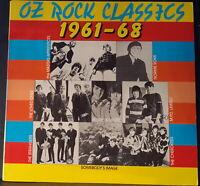 OZ ROCK CLASSICS 1961-68 1989 ROXON RECORDS X08 GREAT BEAT GARAGE POP ROCK LP