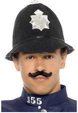 Adult Fancy Dress Victorian London Bobby Policeman Police Officer Hat (47006)