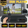 Full HD LCD DVD Player Compact Multi Region MP4 Video HDMI CD USB 3.0 w/ Remote