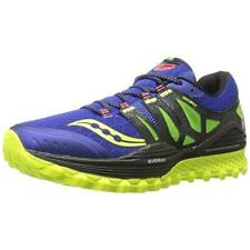 Saucony Men's Xodus ISO Mesh Athletic Trail Running Sneakers