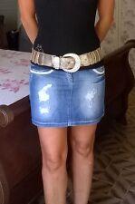 Fly Girl minigonna denim strass tg.40