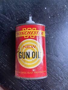 Vintage Winchester Gun Oil 3fl Ozs