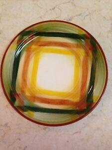 Metlox Poppytrail Vernonware Homespun  Bread Or Cake Plate.   12 Available