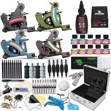 Dragonhawk Complete Tattoo Kit 4 Standard Tunings Tattoo Machines Power Supply 1