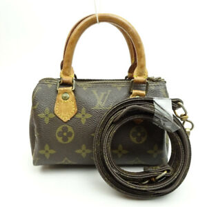 LOUIS VUITTON Mini speedy Monogram 2way Handbag Shoulder M41534