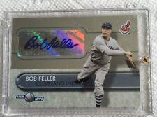 2005 Team Topps Certified Bob Feller Autograph